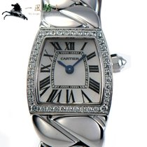 Cartier La Dona de Cartier Oro blanco 18mm Plata