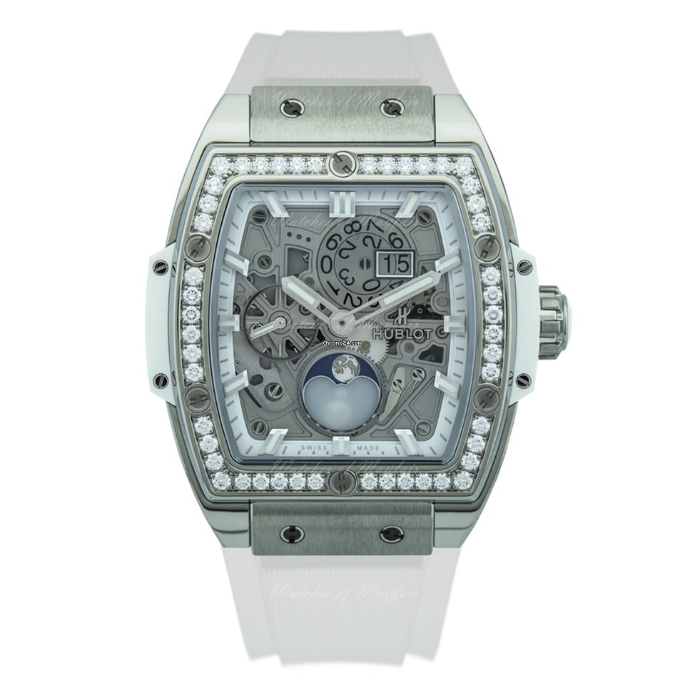 Hublot Spirit of Big Bang Titanium White Diamonds 42 mm