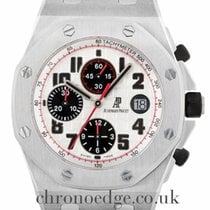 Audemars Piguet Royal Oak Offshore Chronograph Steel 42mm Silver Arabic numerals United Kingdom, Wilmslow