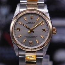 Rolex Oyster Perpetual 31mm Boysize Half-gold 67483 (mint)