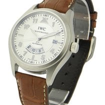 IWC 325110 Pilots UTC Spitfire - Steel on Strap with Silver Dial