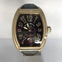 Franck Muller Yellow gold Automatic 56mm pre-owned Conquistador