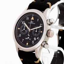 IWC IW3741 Steel Pilot Chronograph 37mm