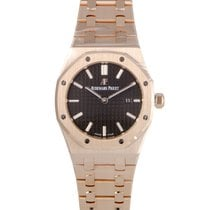 Audemars Piguet Royal Oak Lady Rose gold 33mm Brown United States of America, Pennsylvania, Southampton