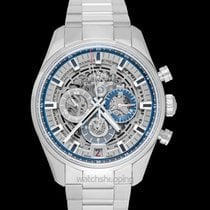 Zenith El Primero Chronomaster Steel 42mm Transparent United States of America, California, San Mateo