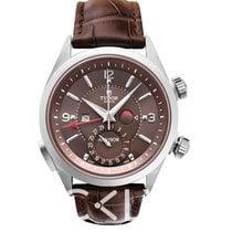 Tudor Heritage Advisor Brown Titanium-Steel/Leather 42mm -...