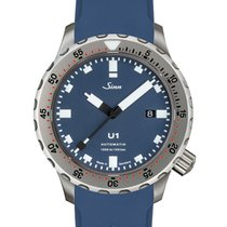 Sinn U1 Steel 44mm Blue No numerals