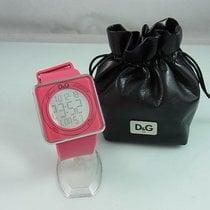 Dolce & Gabbana Stahl 44mm Quarz DW0737 gebraucht