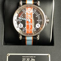 B.R.M Steel 44mm Automatic V6-44-HB-GULF LIMITED EDITION 79/200 new