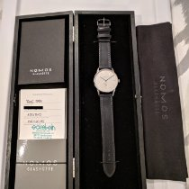 NOMOS Orion 38 Steel 38mm White No numerals United States of America, New Jersey, Hoboken, NJ