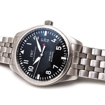 IWC Pilot Mark Steel 41mm Black Arabic numerals