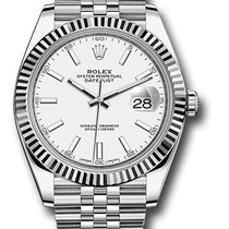 Rolex Datejust Gold/Steel 41mm White United States of America, New York, NY