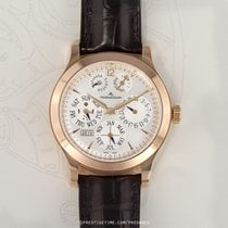Jaeger-LeCoultre Master Eight Days Perpetual Rose gold 41.5mm Silver United States of America, New York, Airmont