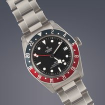 Tudor Black Bay GMT pre-owned 41mm Black Date GMT