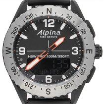 Alpina Steel 45mm Quartz AL-283LBBO5SAQ6 new