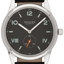 NOMOS Club Campus Steel 38mm Grey