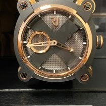 Romain Jerome Moon-DNA Acero y oro 46mm Negro Sin cifras