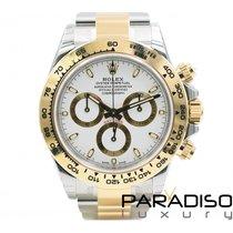 Rolex Daytona Gold/Stahl Weiß