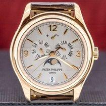 Patek Philippe Rose gold Automatic Arabic numerals 39mm pre-owned Annual Calendar
