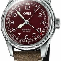 Oris Big Crown Pointer Date 75477414068LS new