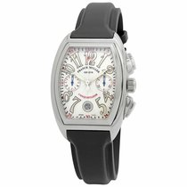 Franck Muller Conquistador Steel 36mm White Arabic numerals United States of America, New York, New York