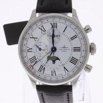 Zeno-Watch Basel Godat Chronograph Full Calendar Moonphase NEW