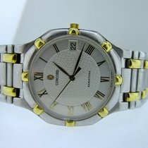 Concord Saratoga Men's 18K Gold & Stainless Steel...