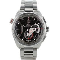 TAG Heuer Acier Chronographe Remontage automatique 43mm Carrera Calibre 36