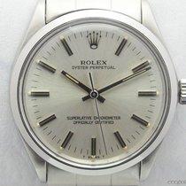 Rolex Vintage Oyster Perpetual 1002 quadrante argento full set