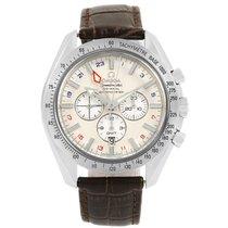 Omega Speedmaster Broad Arrow Gmt Mens Watch 3881.30.37