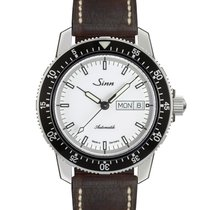 Sinn 104 Steel 41mm White No numerals