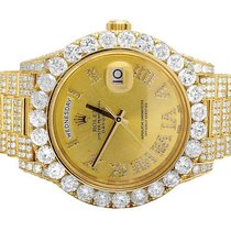 Rolex Mens Rolex Day-Date II 18k President 228238 Yellow Gold...