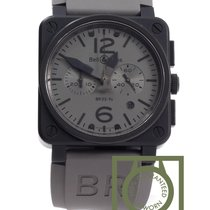 Bell & Ross BR 03-94 Commando Automatic Grey Dial Matte Black PVD