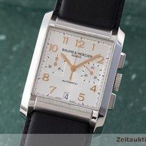 Baume & Mercier Hampton Chronograph Herrenuhr 65698 Automatik