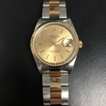 Rolex Oyster Perpetual Date Gold/Steel 34mm No numerals United States of America, Texas, Houston