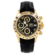 Invicta Limited Edition Solid Gold Chronograph