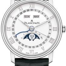 Blancpain Villeret Quantième Complet Steel 40mm White Roman numerals