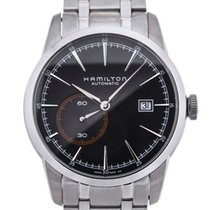 Hamilton Railroad Zeljezo 42mm Crn
