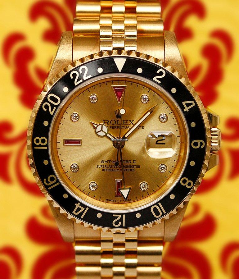 online store cad69 596f9 Rolex GMT Ref. 16718