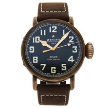 Zenith Pilot Type 20 Extra Special pre-owned 45mm Bronze