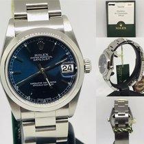 Rolex Lady-Datejust Steel 31mm Blue Roman numerals