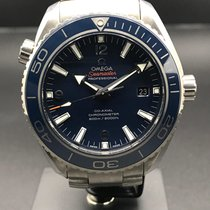 Omega Seamaster Planet Ocean Titane 45.5mm Bleu Arabes France, Paris