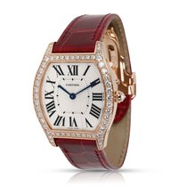 Cartier Tortue Rose gold 31mm Silver Roman numerals United States of America, New York, New York