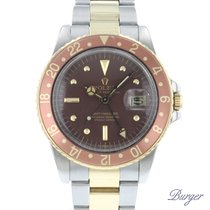 Rolex GMT-Master Altın/Çelik 40mm Kahverengi