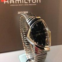 Hamilton Ventura H24411232 HAMILTON Ventura Quarzo Acciaio Nero 2020 new