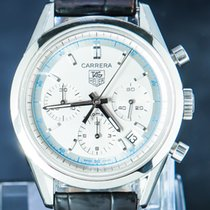 TAG Heuer Carrera Calibre 17 Steel 39mm White No numerals