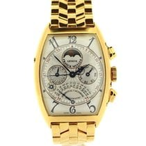 Franck Muller Casablanca Yellow gold 33mm