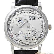A. Lange & Söhne Lange 1 Platinum 42mm Silver (solid) Roman numerals