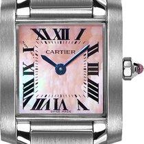 Cartier Tank Française new Quartz Watch with original box W51028Q3