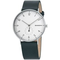 Skagen Steel 40mm Quartz SKW6466 new